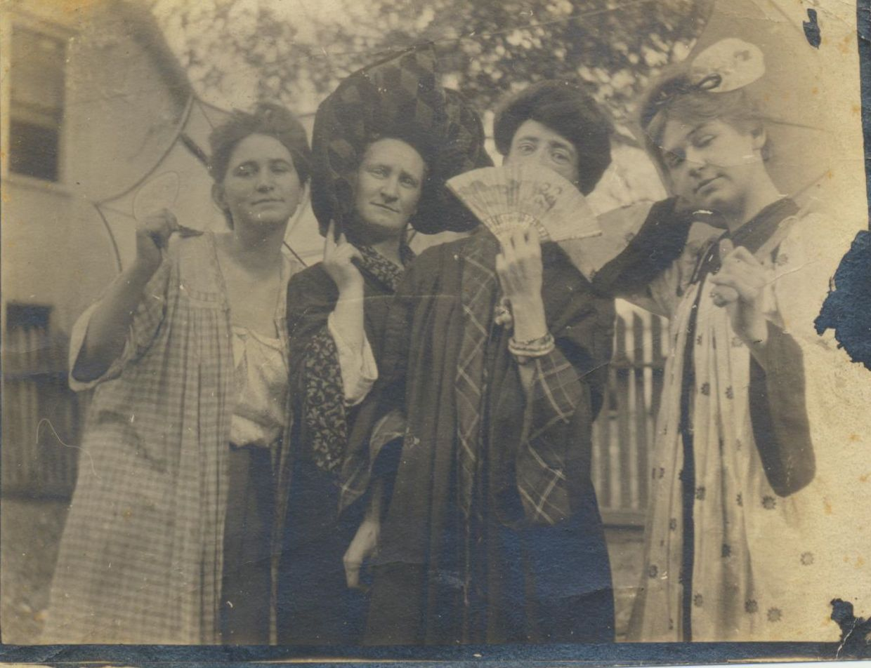 Sisters Aileen, Honor, Katherine, and Marie Wolfe (courtesy of Ann McClary)