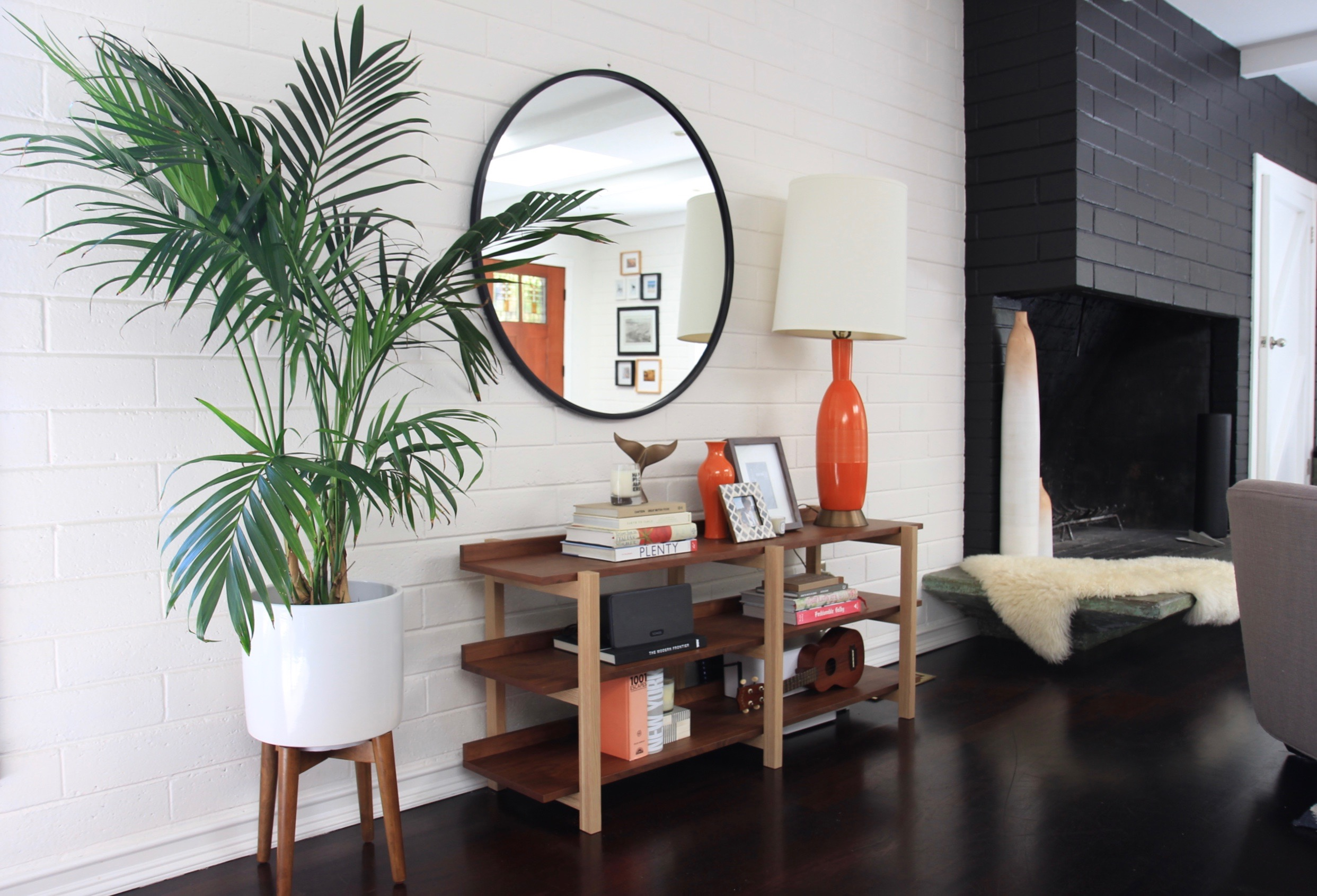 California Modern Living Room by Katie Monkhouse