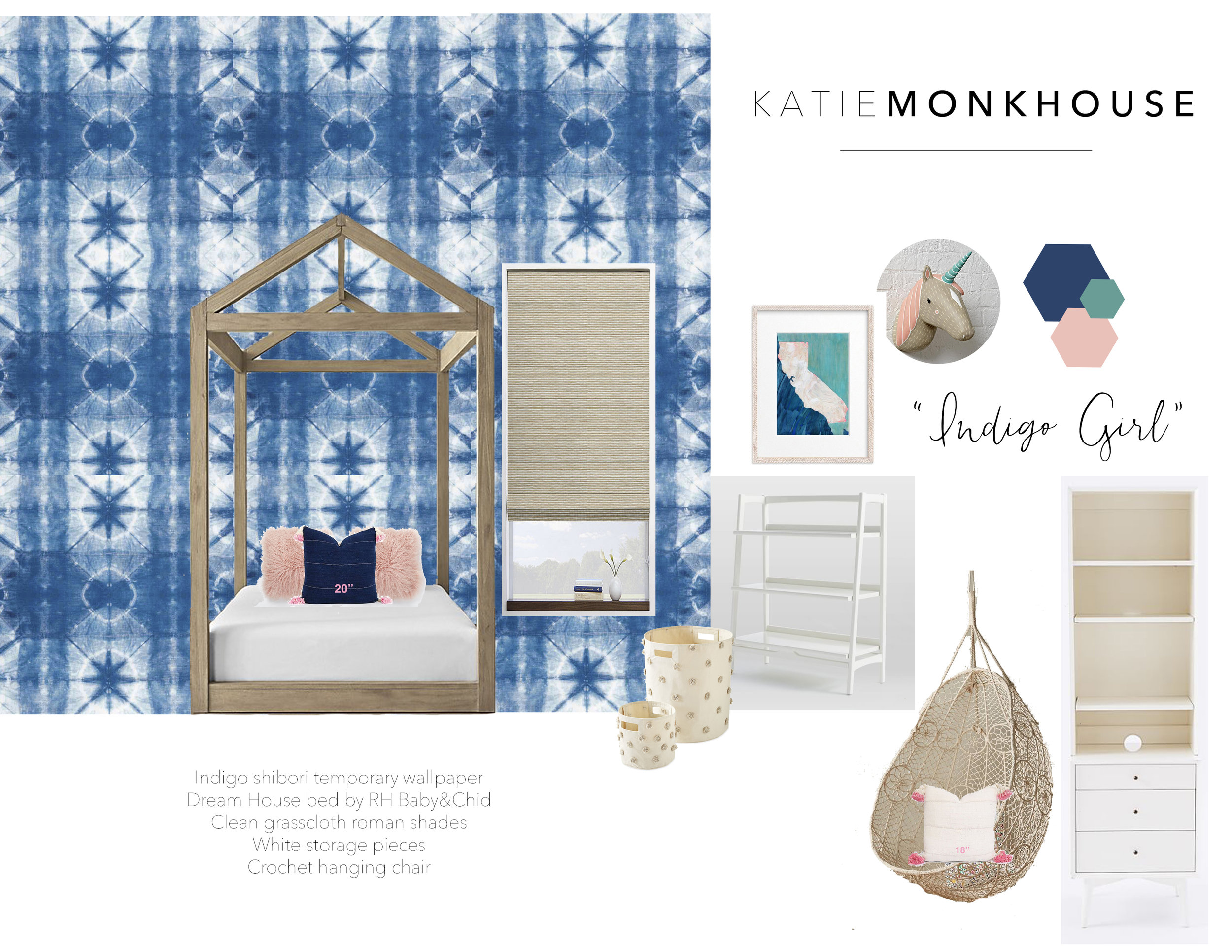 Modern Kids Bedroom by Katie Monkhouse