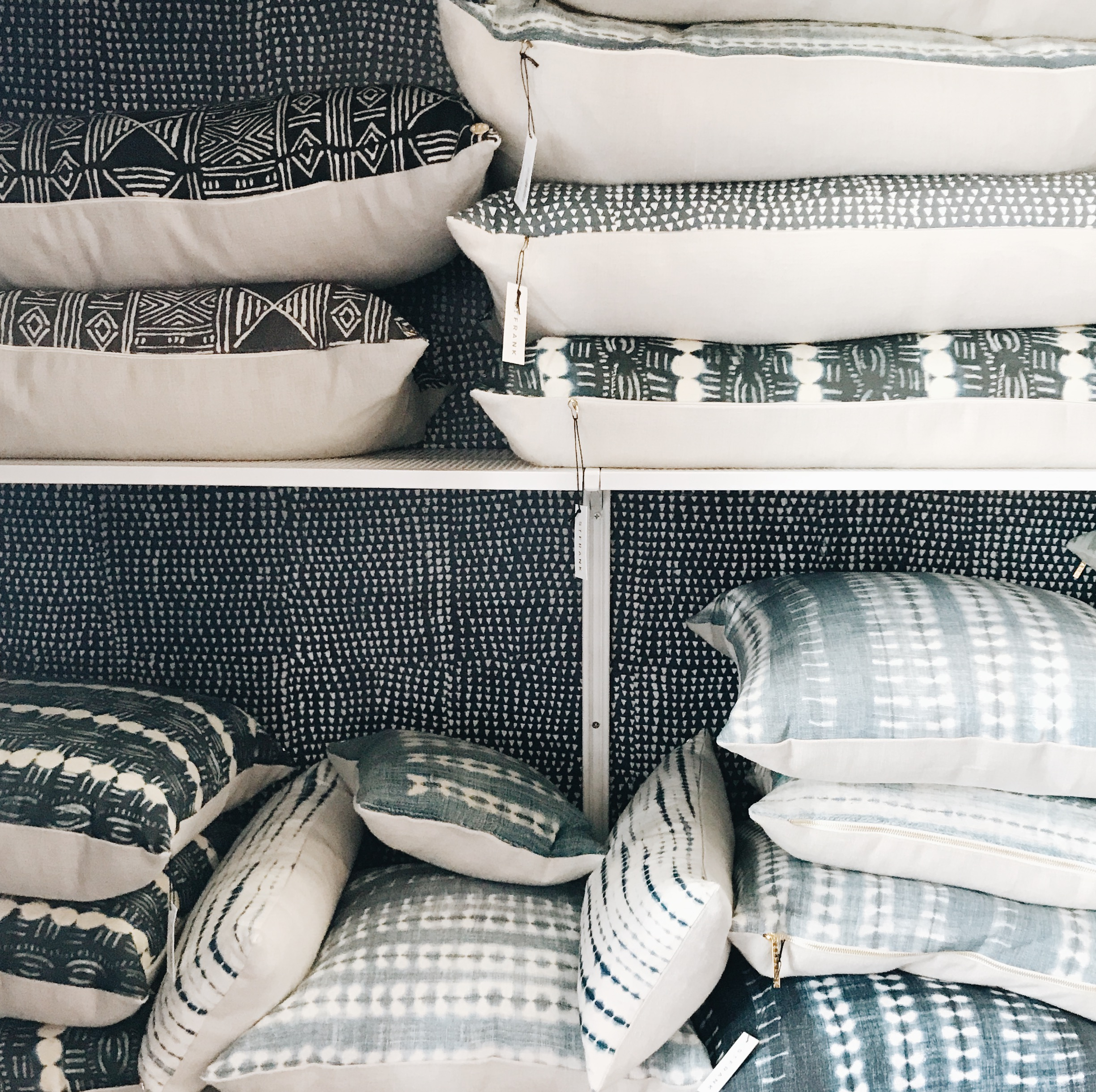 Don't miss the pillow closet in the back or just  shop them online  ;-)