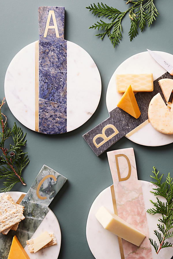 This Monogram Cheese Board is only $38!