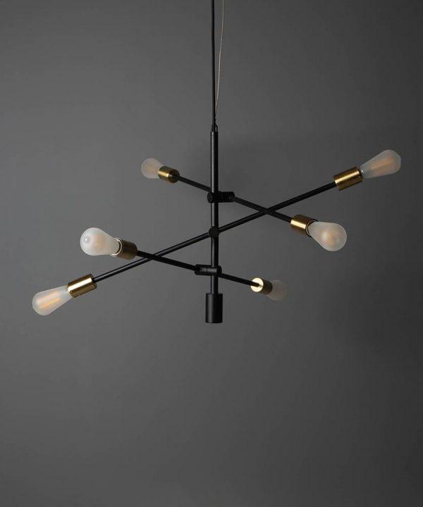 Mid-century chandelier, love.