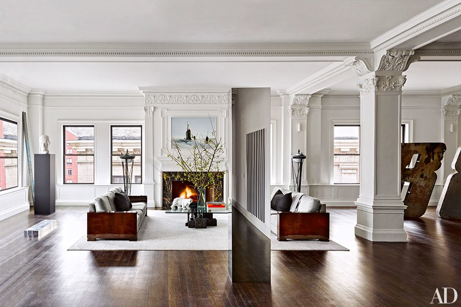 new york prewar - design by Nicholas Kilne from Architectural Digest