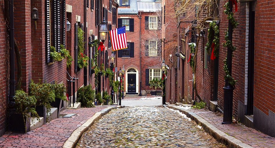 boston colonial - beacon hill, boston