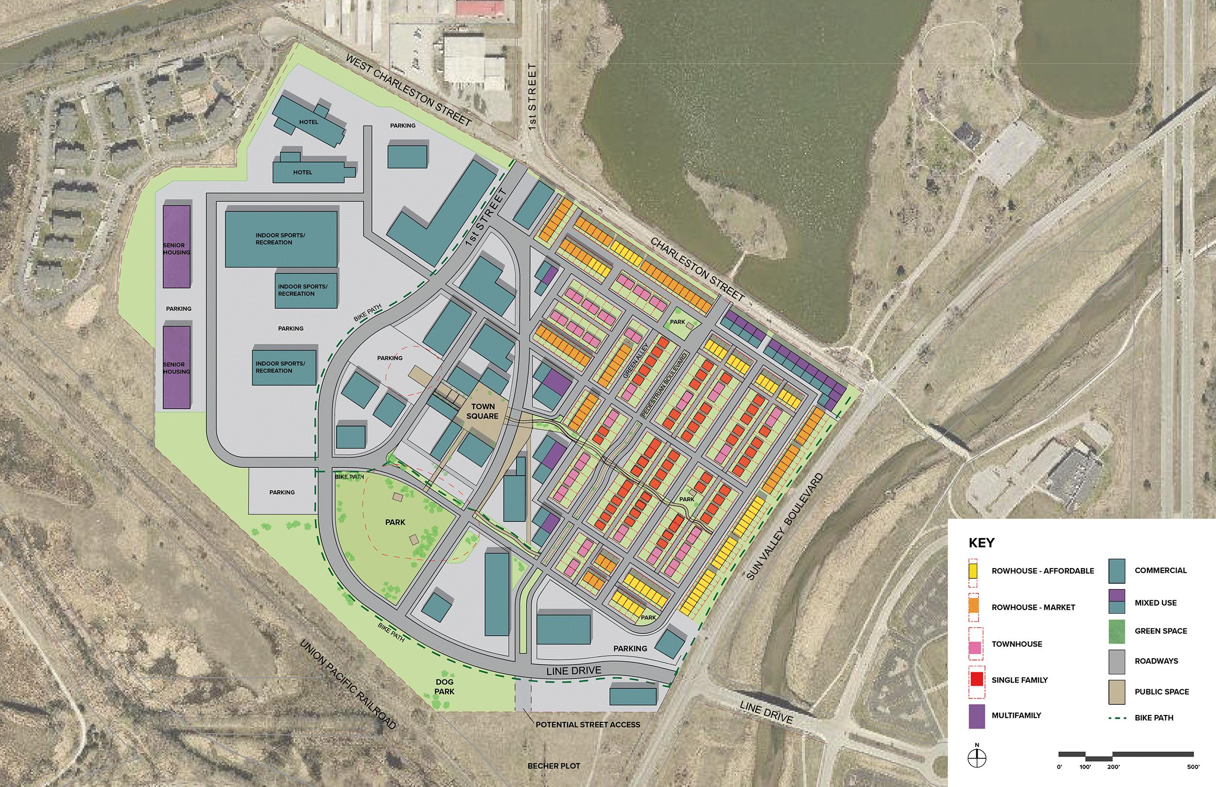 West Haymarket Village Site Plan