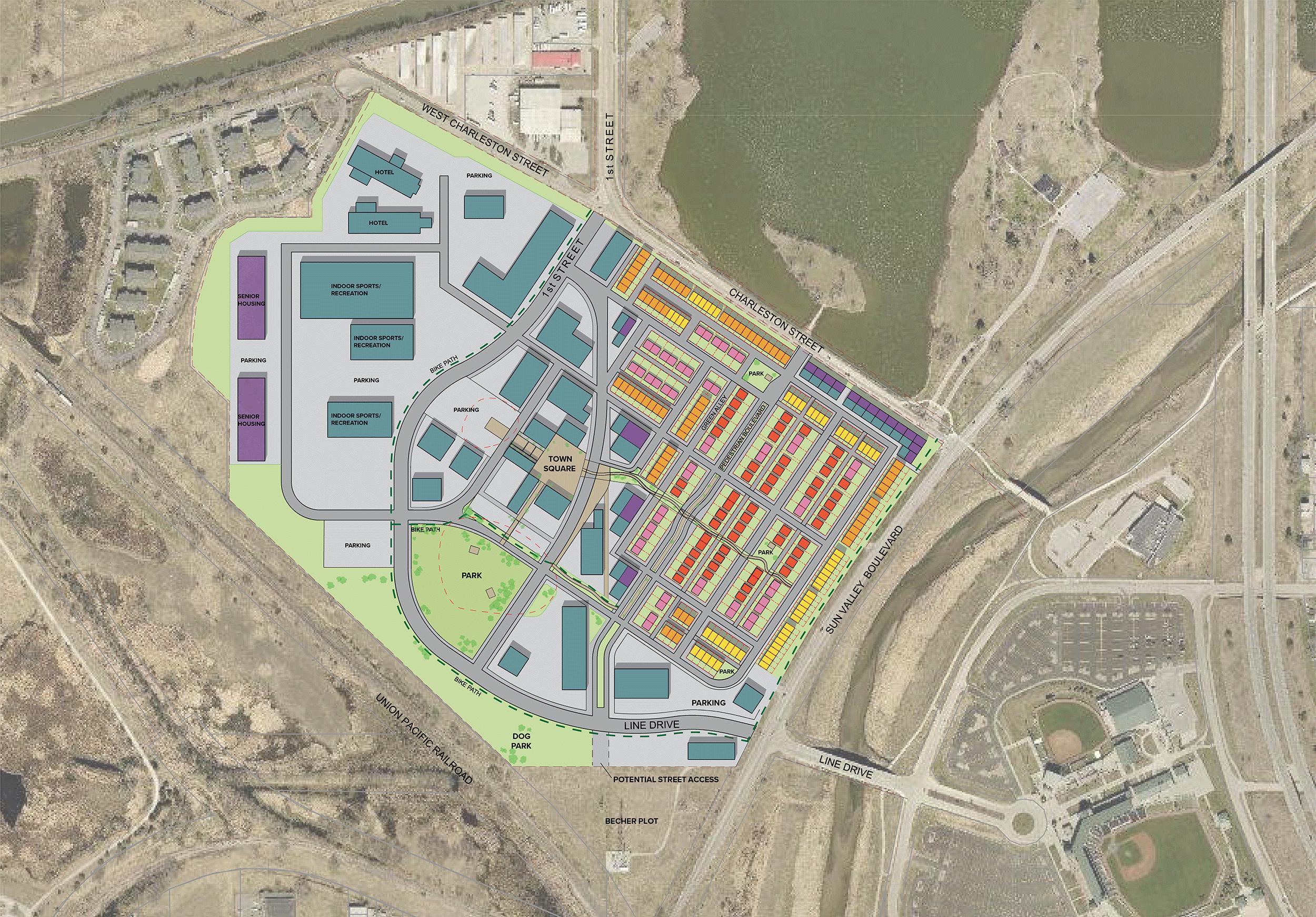 West Haymarket Village Master Plan