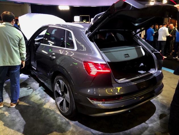 Hey Alexa, what does an Audi e-tron look like?