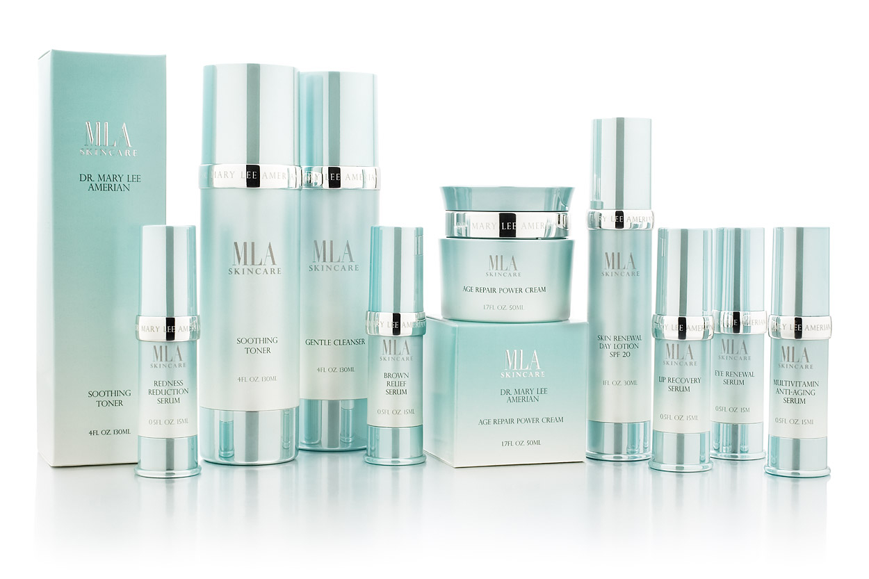 'MLA' Skincare.   Client:  Dr. Mary Lee Amerian   We Provided:  PACKAGING, BRAND DEVELOPMENT, STRATEGY