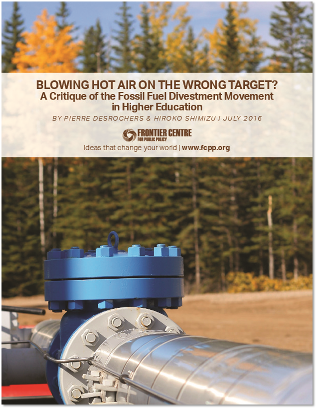 Blowing Hot Air on the Wrong Target? A Critique of the Fossil Fuel Divestment Movement in Higher Education