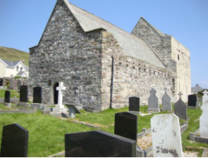 St. Bridget's Abbey, Clare Island