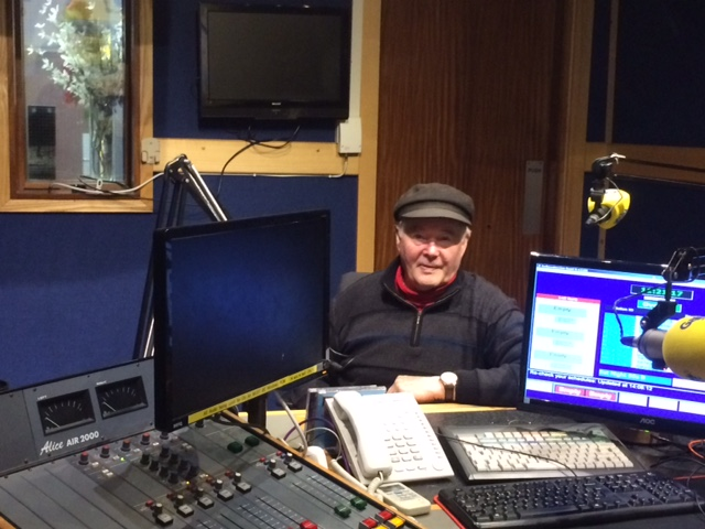 Kevin Rohan at Galway Bay FM.