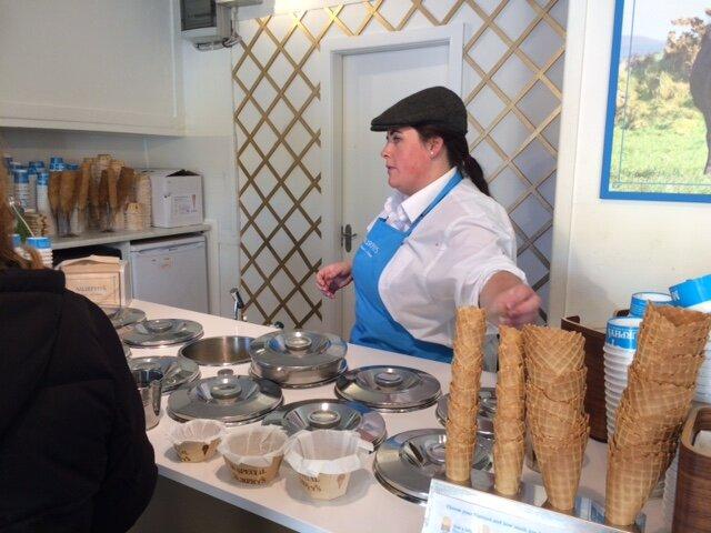 Murphy's Ice Cream Shop in Dingle.