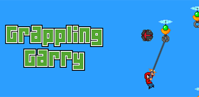 Grappling Garry - A procedurallygenerated arcade game released November 2014 for iOS and Android.