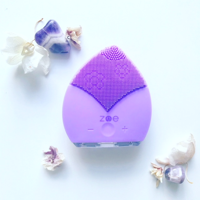 Qyk Sonic Zoe - This is my favorite cleansing device! You can read more on why here.Made from anti-microbial silicone, it cleanses on one side with 7,000 pulses per minute and 15 settings, making it excellent for ALL skin types. It's petal shape allows you to easily cleanse all your face's nooks and crannies.Flip it over and use it's ultra sonic oscillation and harder silicon touch points to mimic a gentle micro-needling session that pushes product deep into your skin why stimulating oxygen and nutrient rich blood flow to the surface.Use my DISCOUNT CODE: ORGANIC.ESTHETICIAN for 10% OFF the new Zoe Bliss, Zoe Luxx and Zoe Plus + FREE shipping.Get the Original Zoe in Hot Pink or Baby Pink for $99 with the above code, available till 2/14/19.  Thats $50 OFF! (Originally $149)