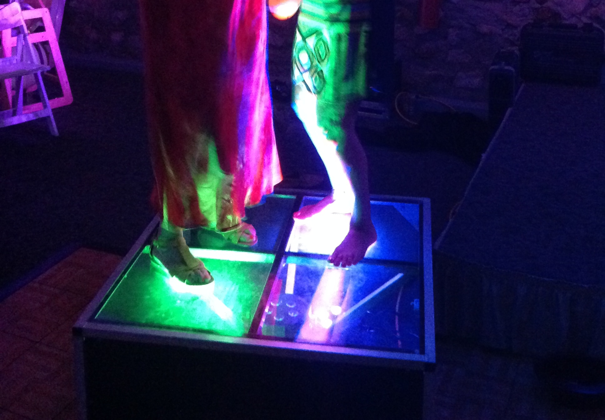 LED DANCE BOXES