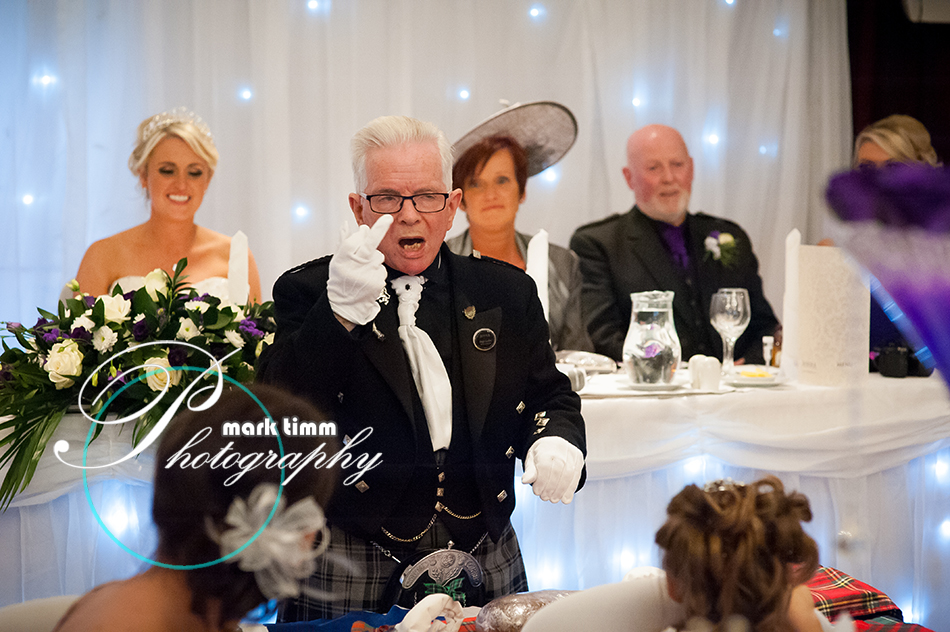Okay mate, I was only asking you to smile! Belligerent toastmasters - the scourge of the wedding industry.
