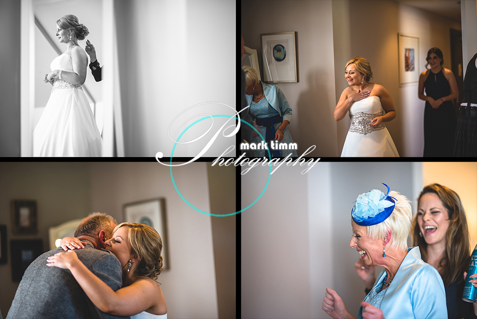waterside hotel wedding photos