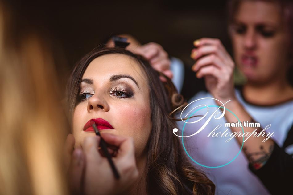 wedding makeup bute