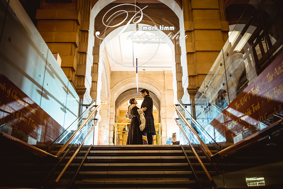 gothis wedding theme kelvingrove glasgow scotland