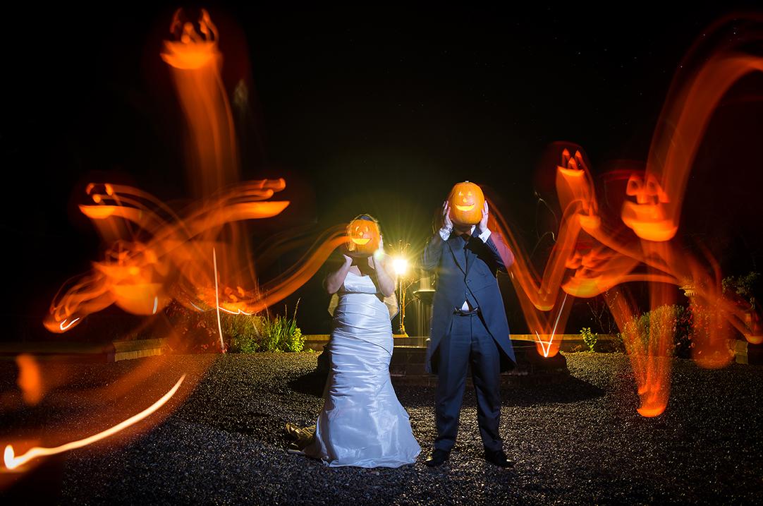 halloween wedding scotland