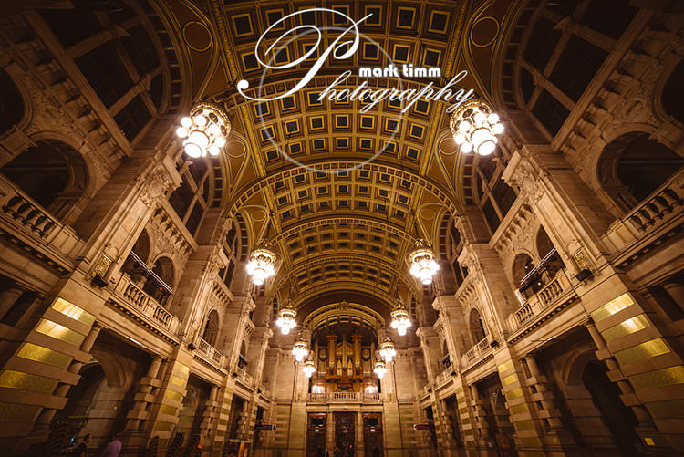 Kelvingrove art gallery wedding