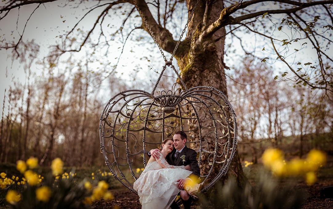 glenskirlie best wedding photographer scotland tulips glasgow