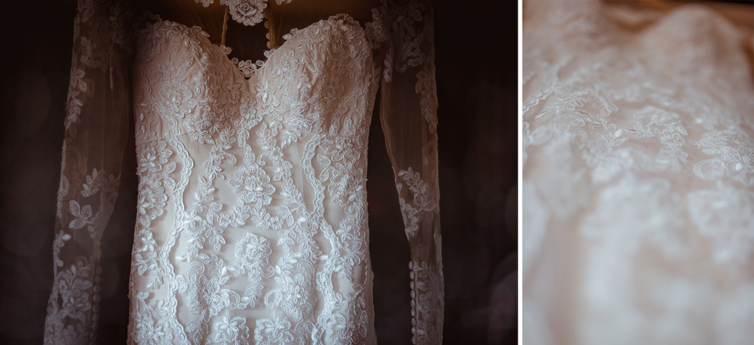 vintage wedding dress stirling
