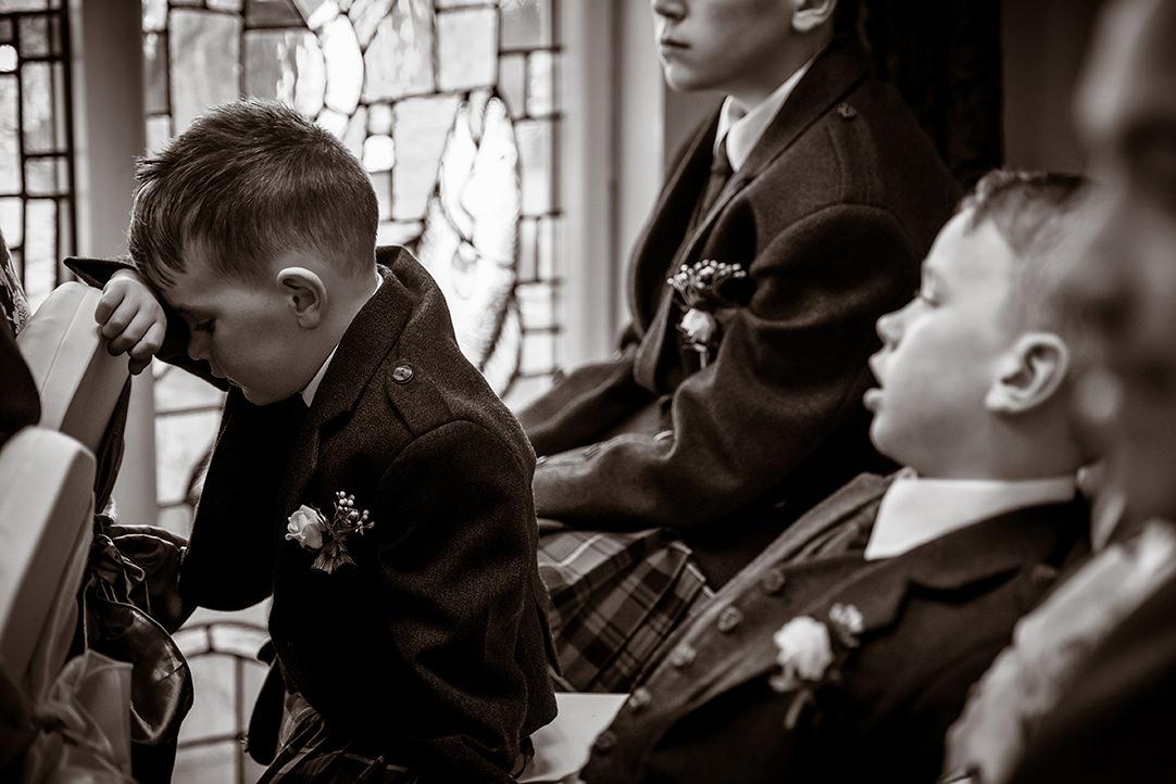 funny wedding photographs scotland