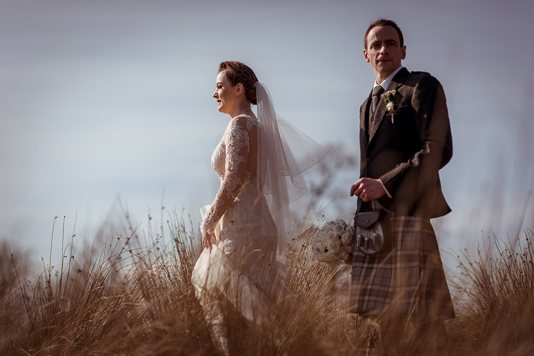 natural alternative wedding photography stirling glasgow scotland