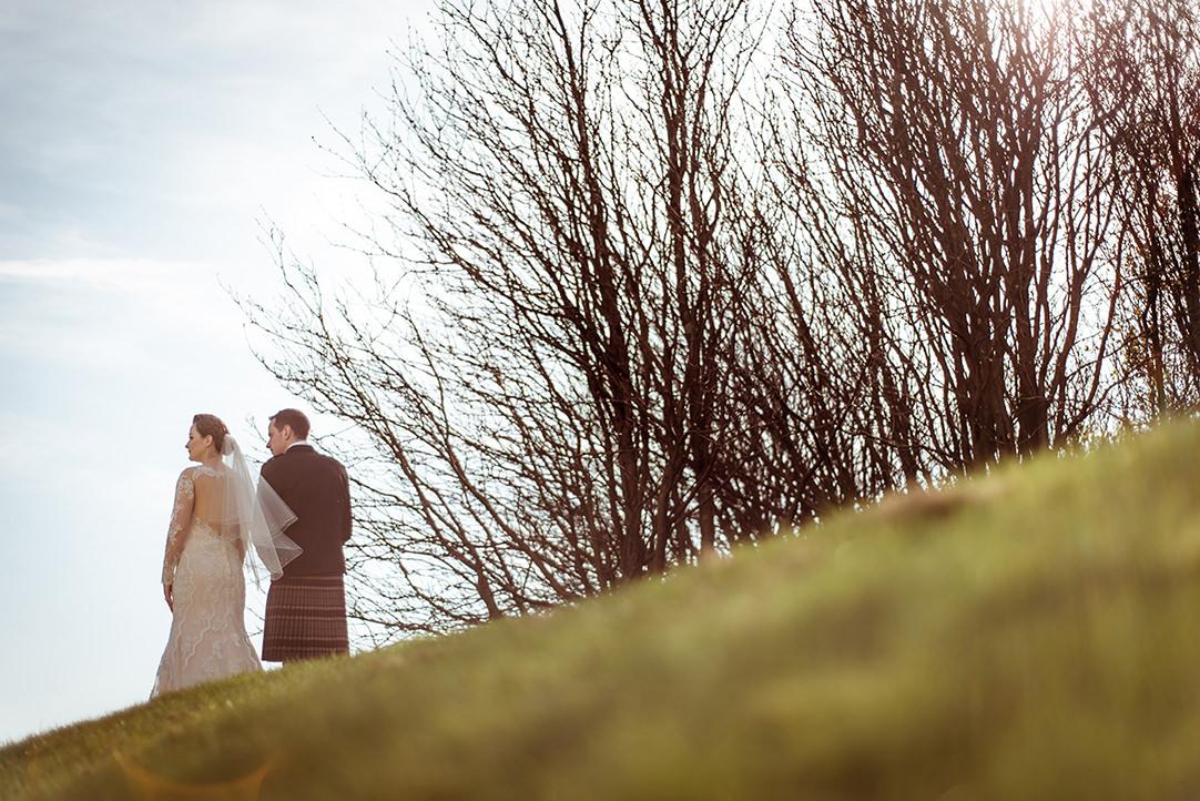 glenskirlie creative wedding photographer
