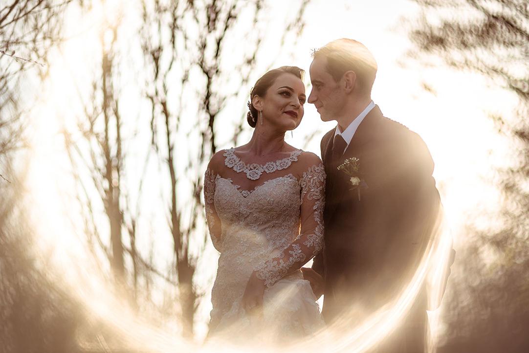 Glenskirlie castle creative alternative wedding photographer sunset scotland