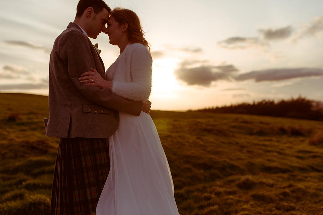 sunset wedding photographs the vu