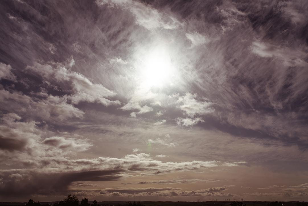 west coast scotland skies wedding photography