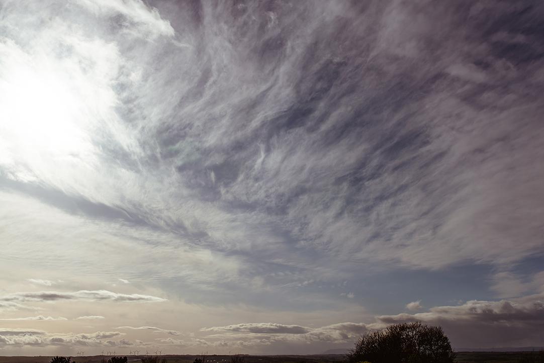 west coast scotland skies wedding photos