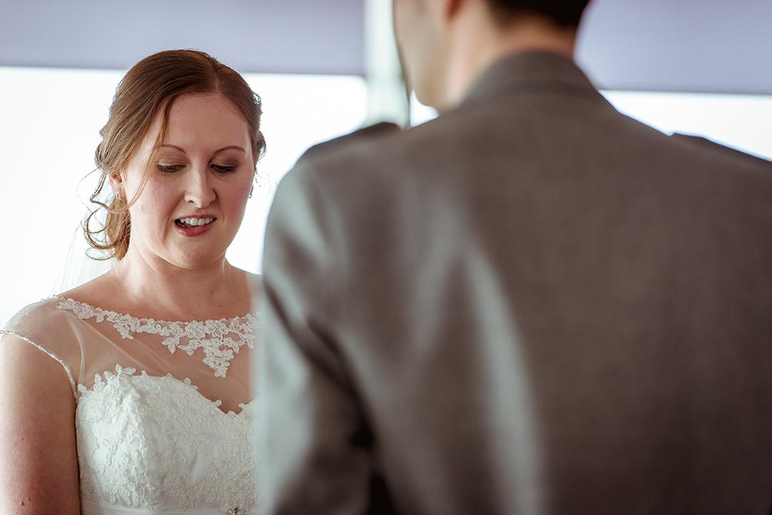 nervous bride wedding photographer