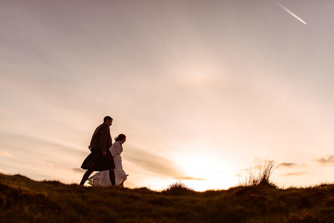 scottish highland landscape wedding elopement