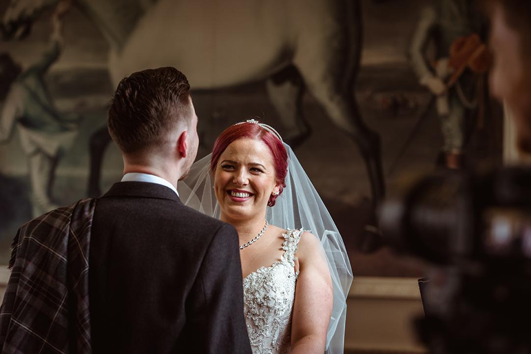 castle wedding photographer scotland