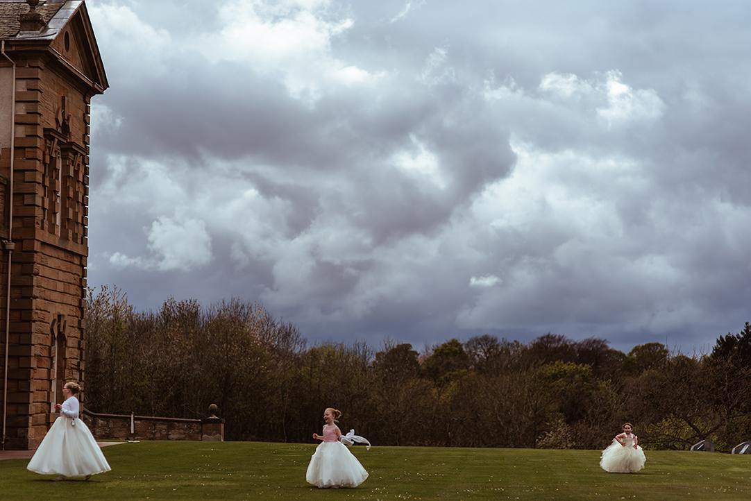 chatelherault wedding flowergirl dress