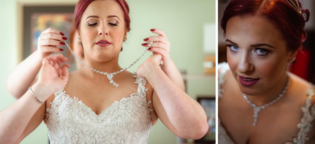 redhead bride scotland glasgow