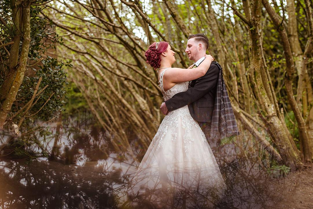 artistic wedding photography hamilton scotland