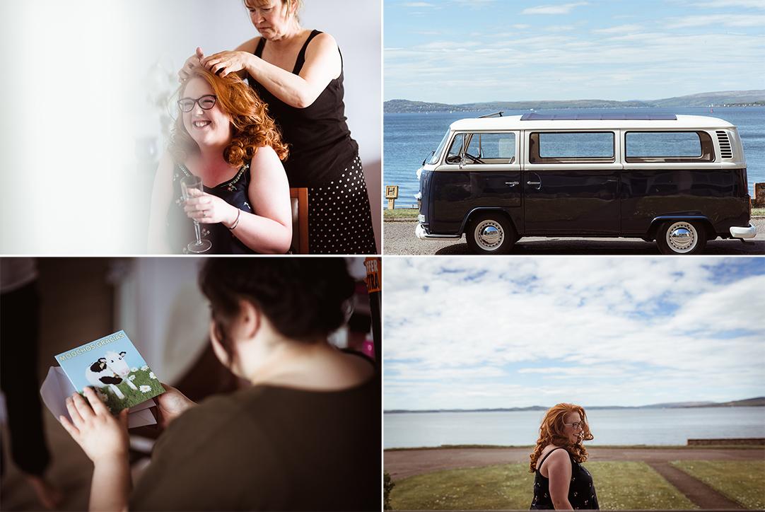 west coast scotland alternative wedding photography