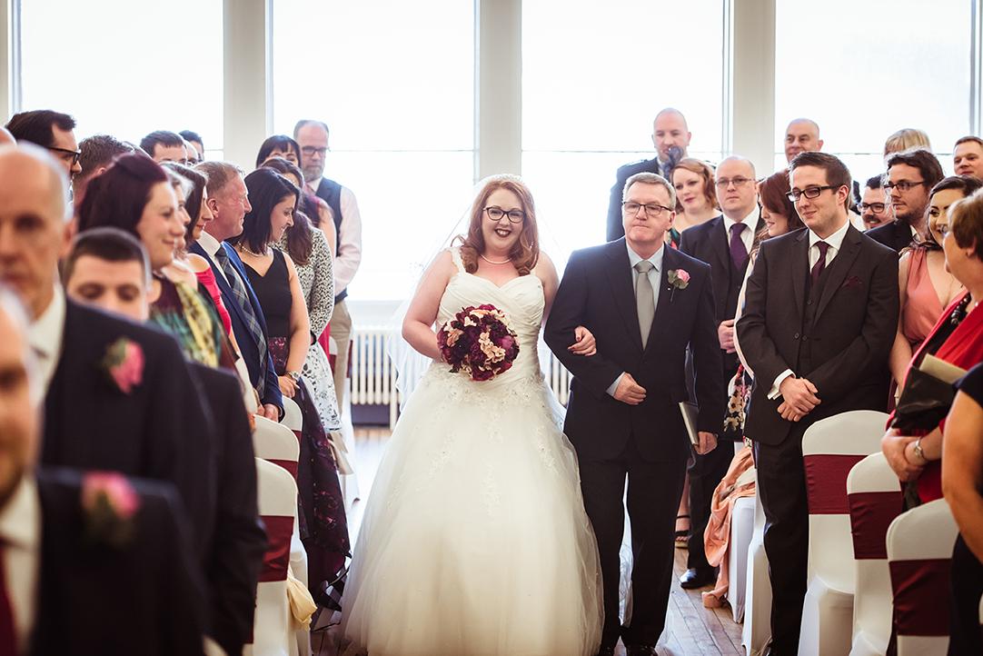 greenock town hall wedding