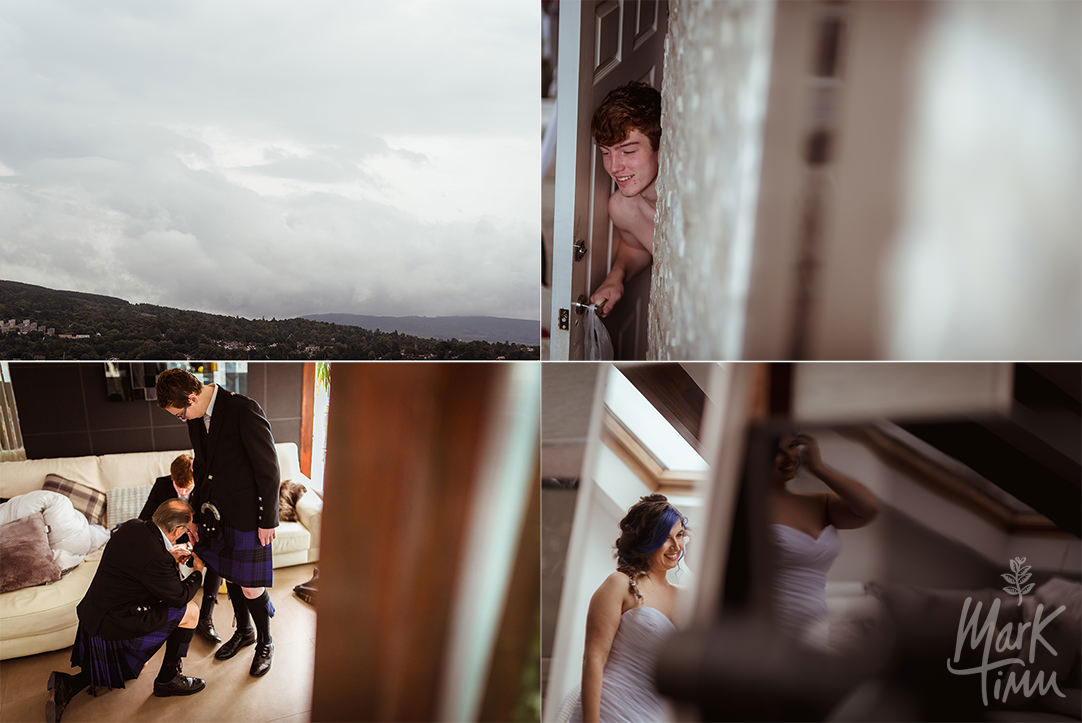 gare loch wedding photographer argyll and bute