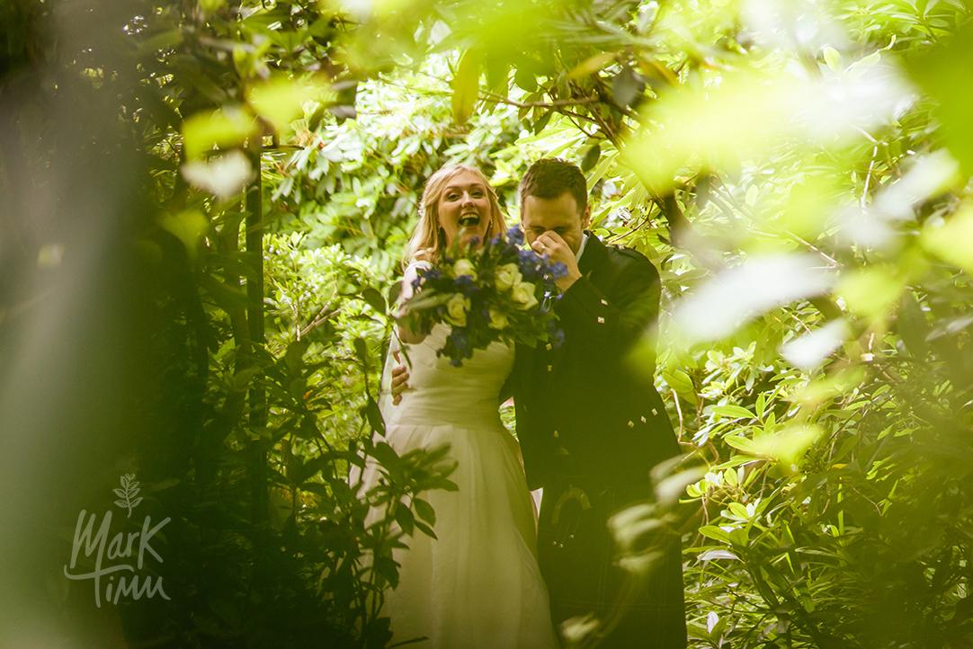 creative wedding photos glenskirlie