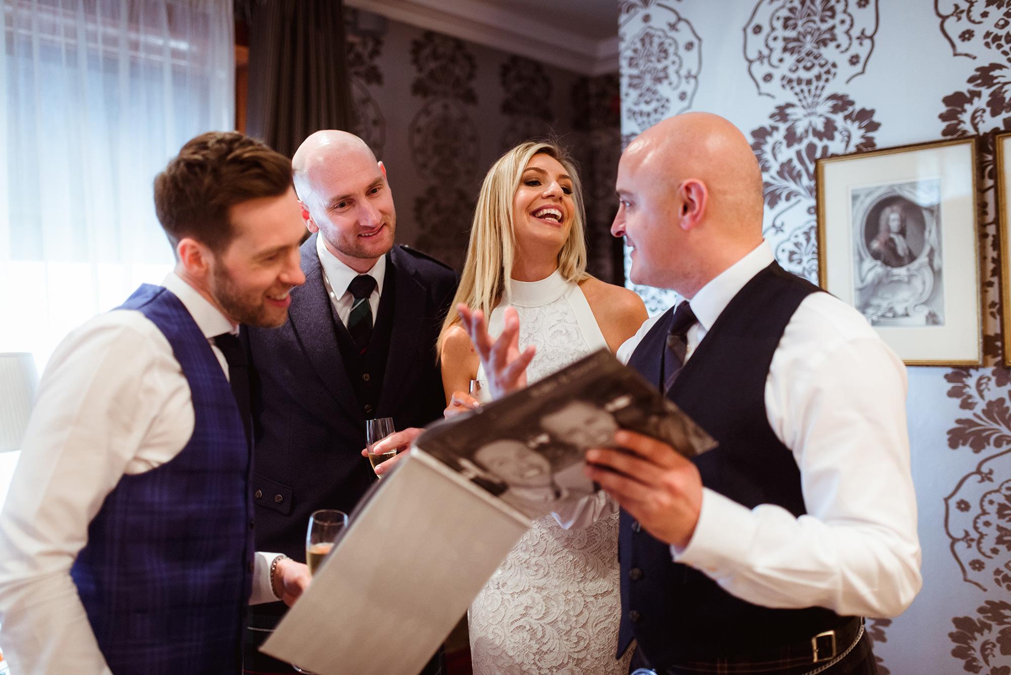 Hotel du vin wedding photo