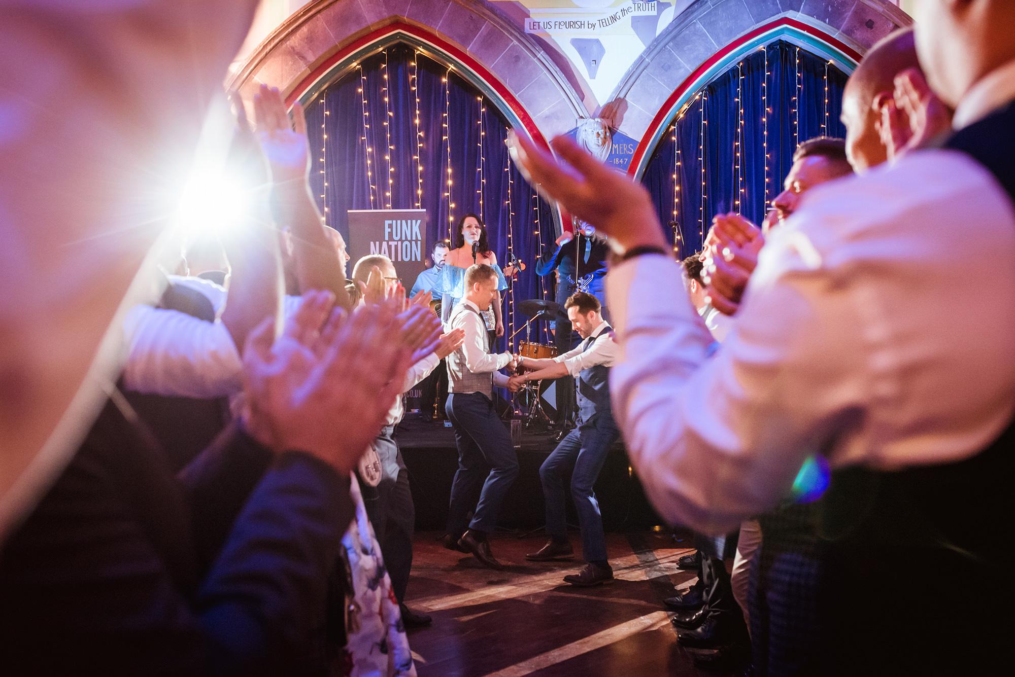 oran mor gay wedding