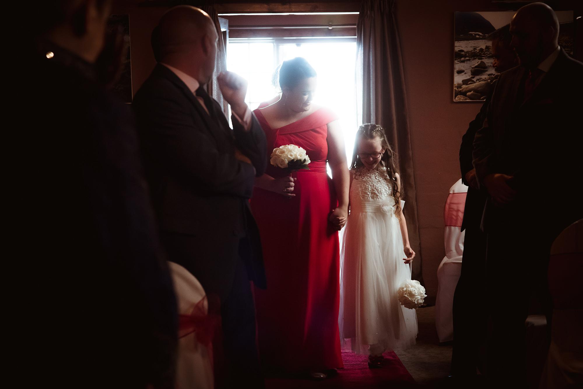creative wedding photography scotland