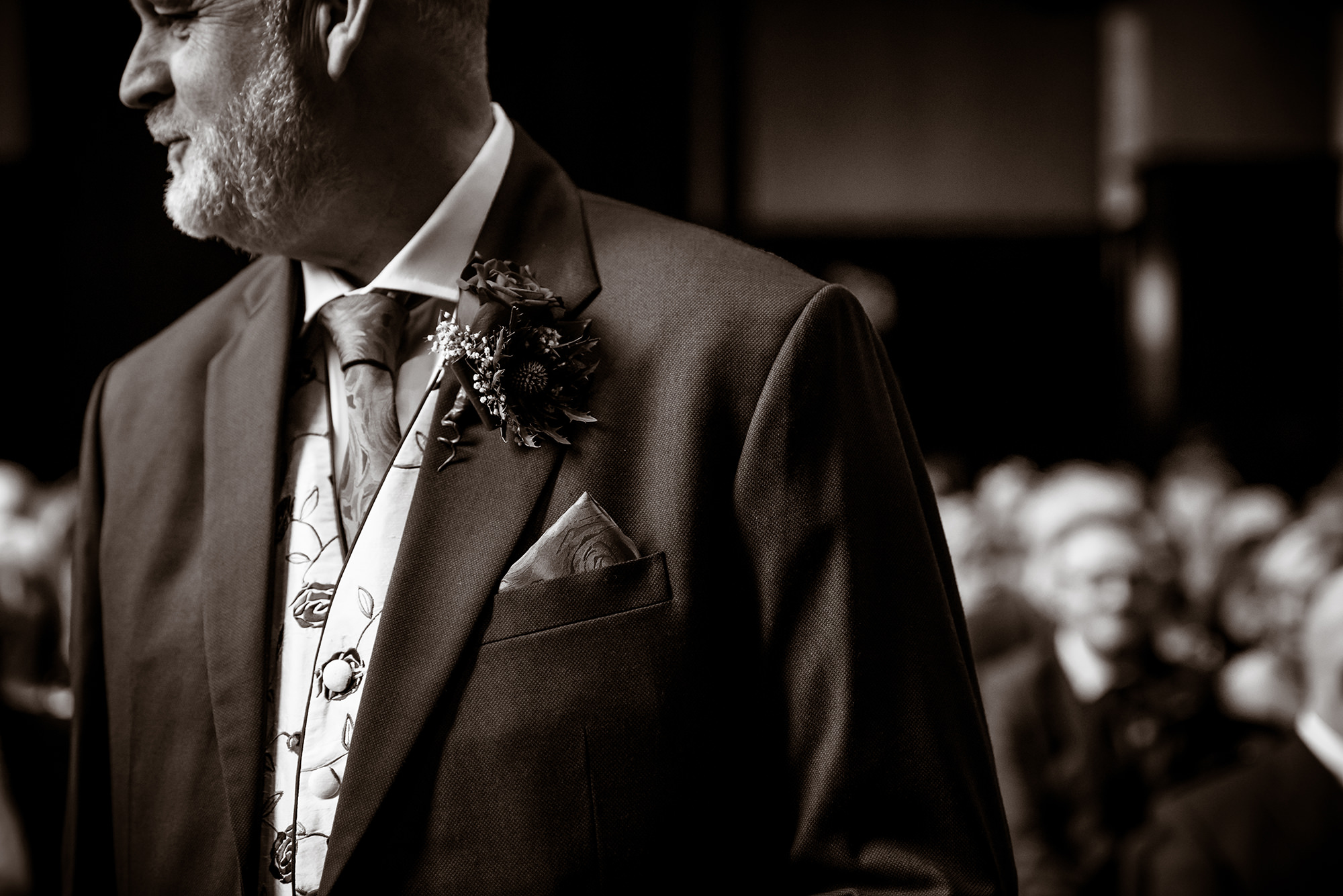 black and white weddings Glasgow