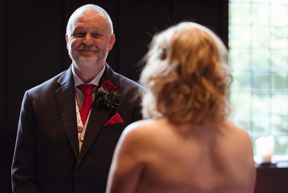 mature couple wedding scotland