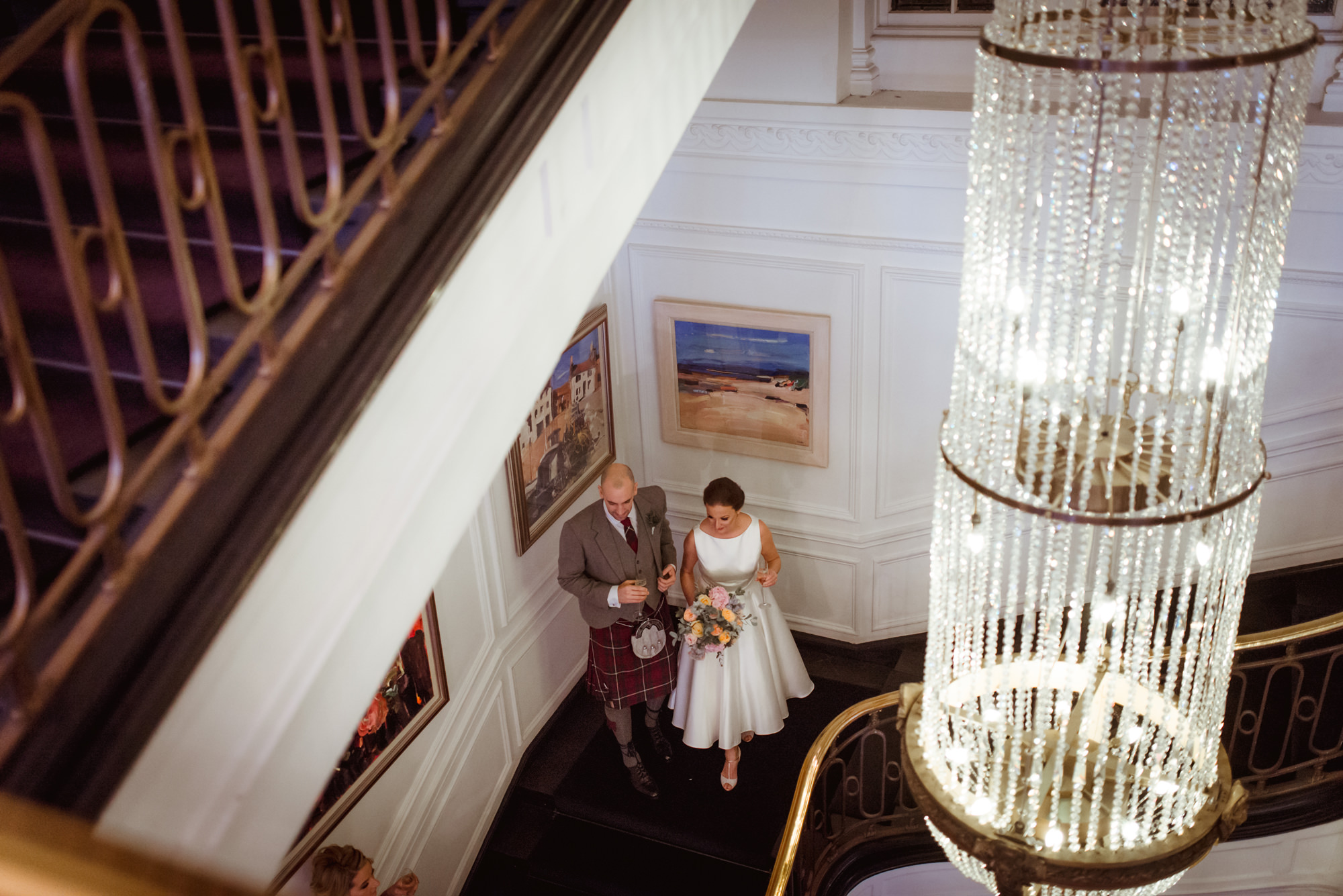 Blythswood Square hotel wedding